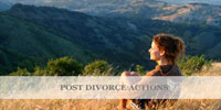 Post-Divorce-Actions